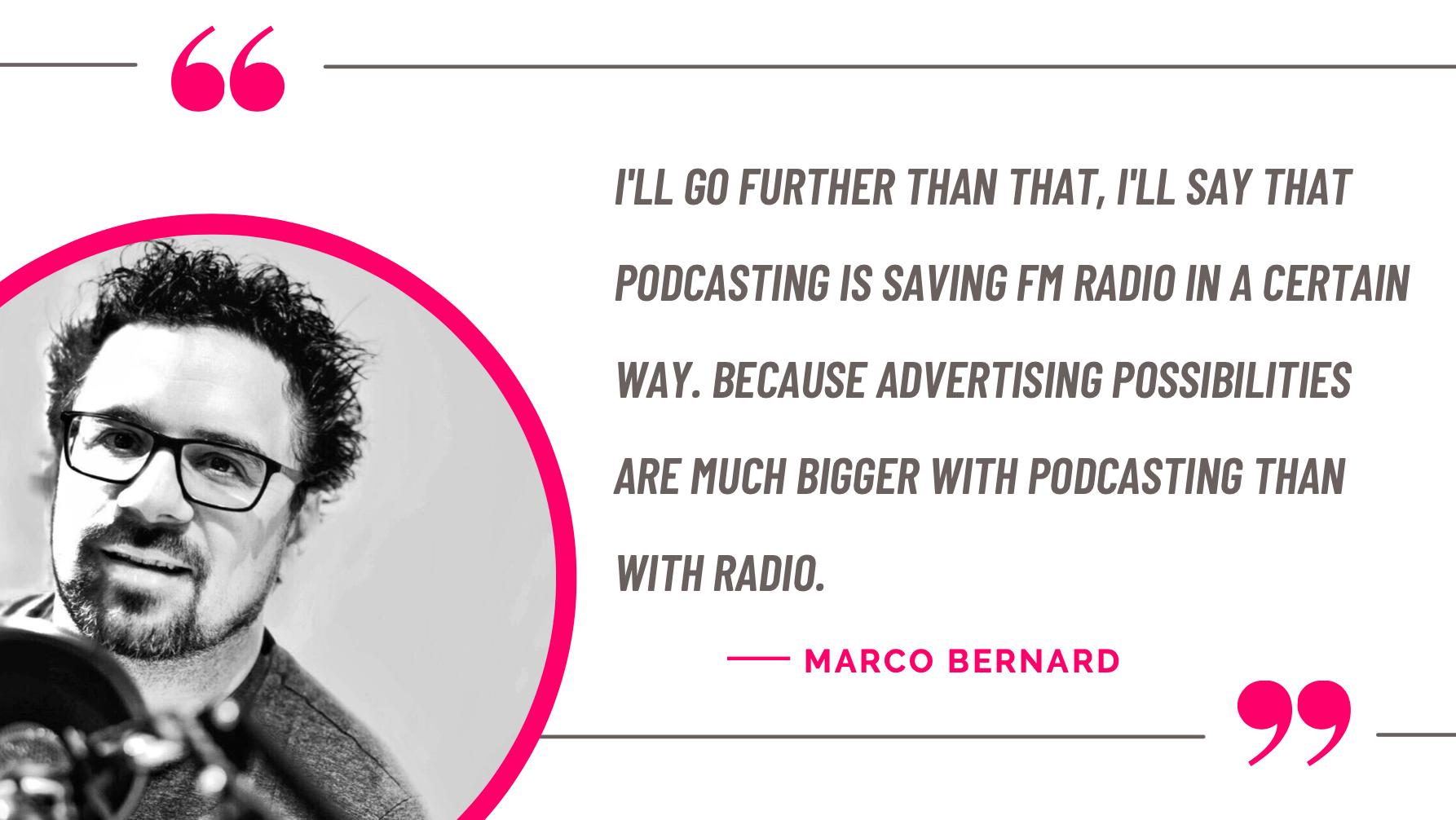 Marco Bernard quote